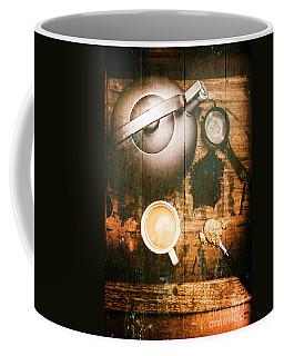 Vintage Tea Crate Cafe Art Coffee Mug