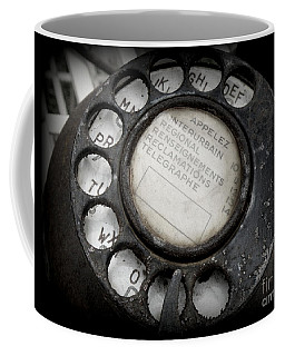 Vintage Telephone Coffee Mug