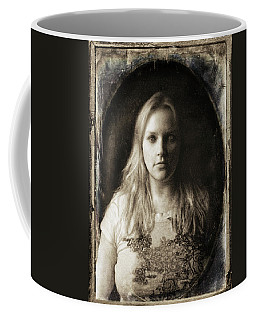 Vintage Tintype Ir Self-portrait Coffee Mug