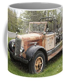 Vintage Tow Truck Coffee Mug by Marcia Lee Jones