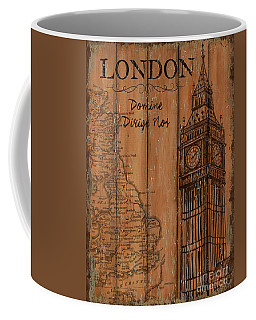 Vintage Travel London Coffee Mug
