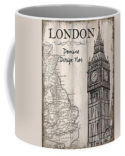 Vintage Travel Poster London Coffee Mug