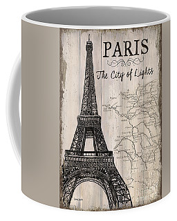 Vintage Travel Poster Paris Coffee Mug
