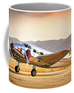 Les Whittlesey's Lockheed Electra 12a Coffee Mug