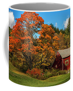 Vintage Vermont - Red Barn Coffee Mug