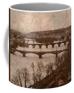 Vintage Prague River 2 Coffee Mug
