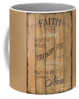 Vintage Wtlb Faith Coffee Mug