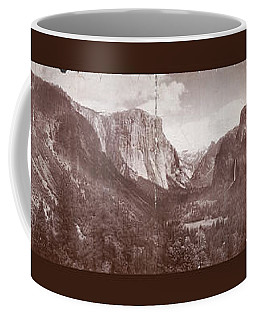 Coffee Mug featuring the photograph Vintage Yosemite Valley 1899 by John Stephens