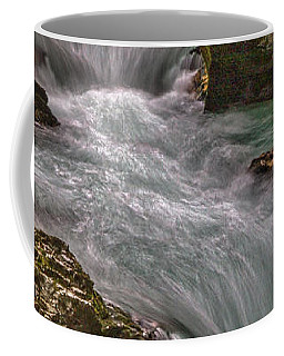 Coffee Mug featuring the photograph Vintgar Gorge Rapids #2 - Slovenia by Stuart Litoff