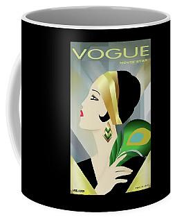Vinttage Vogue Cover April 1929 Coffee Mug