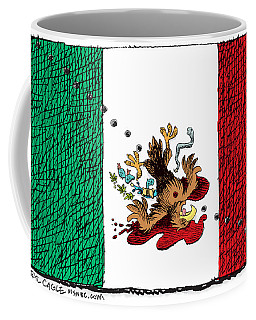Violence In Mexico Coffee Mug