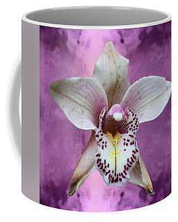Violet Colored Lauritzen Orchid Coffee Mug