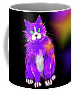 Violet Dizzycat Coffee Mug