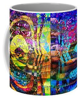 Violet Dream Spiral Coffee Mug