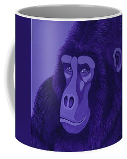 Violet Gorilla Coffee Mug