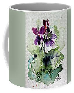 Violet Iv Coffee Mug by Kovacs Anna Brigitta