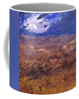 Coffee Mug featuring the painting Violet Night  by Norma Duch