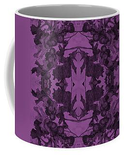 Violet Oak Tree Pattern Coffee Mug