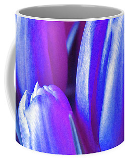 Violet Poetry Of Spring Coffee Mug