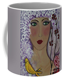 Violet Queen Coffee Mug