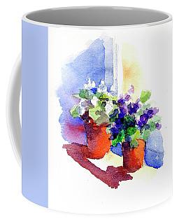 Violets Are Blue Coffee Mug