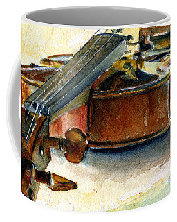 Violin 2 Coffee Mug
