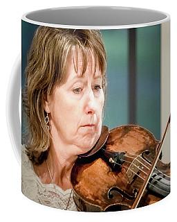 Violin Concentration Coffee Mug
