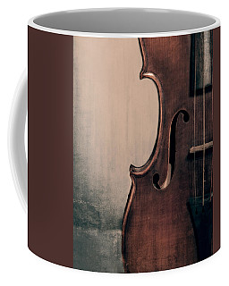 Violin Portrait  Coffee Mug