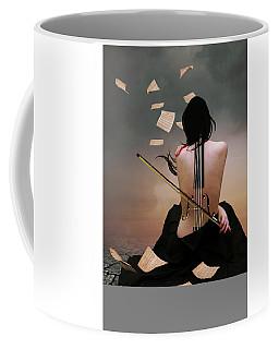 Violin Woman Coffee Mug