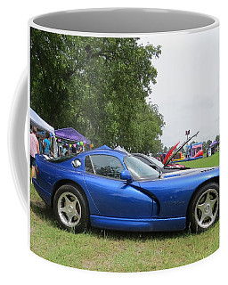 Coffee Mug featuring the photograph Viper Lines by Aaron Martens