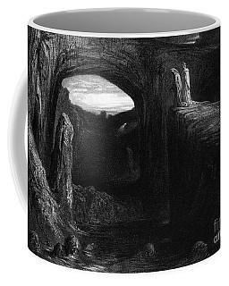 Virgil And Dante Entering Hell Coffee Mug