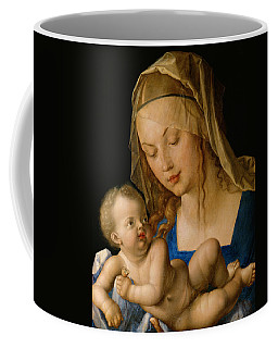 Virgin And Child With A Pear Coffee Mug