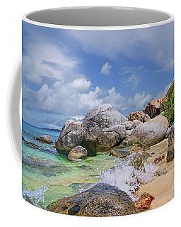 Coffee Mug featuring the photograph Virgin Gorda The Baths by Olga Hamilton