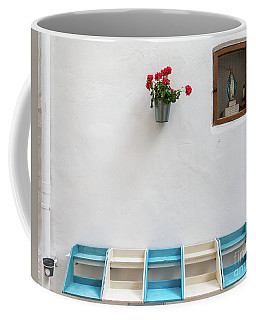 Virgin Mary Street Altar Shrine Coffee Mug