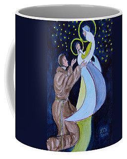 Virgin Mary With Jesus And St Anthony Coffee Mug