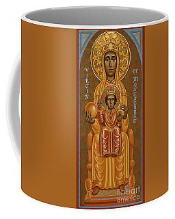 Virgin Of Montserrat - Black Madonna - Jcvom Coffee Mug