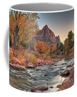 Virgin River And The Watchman Coffee Mug