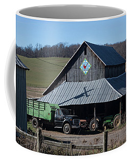 Virginia Barn Quilt Series Xxii Coffee Mug