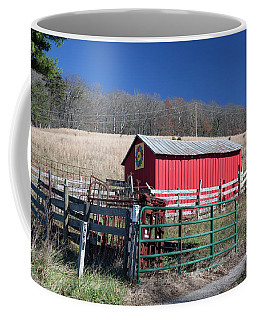 Virginia Barn Quilt Series Xxiv Coffee Mug