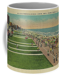 Virginia Beach Ocean Front Boardwalk Coffee Mug