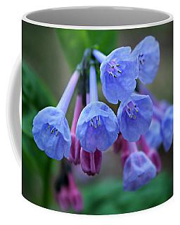 Blue Bells Coffee Mug by William Tanneberger
