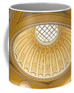 Coffee Mug featuring the photograph Virginia Capitol - Dome Profile by Jemmy Archer