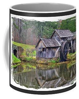 Virginia Country Roads - Mabry Mill, Autumn - Blue Ridge Parkway, Floyd County Coffee Mug
