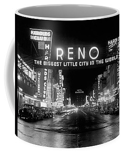 Virginia Street In Reno Coffee Mug
