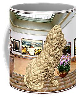 Virtual Exhibition - Statue Of A Lion Coffee Mug