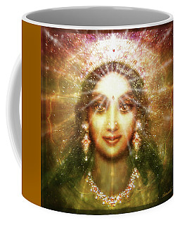 Vision Of The Goddess - Light Coffee Mug