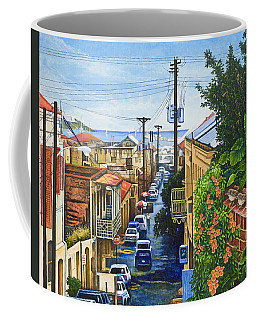 Visions Of Paradise Vii Coffee Mug by Michael Frank