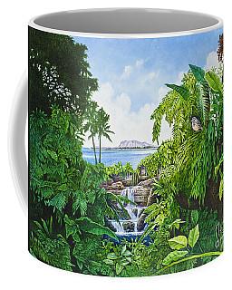Visions Of Paradise Ix Coffee Mug by Michael Frank