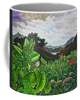 Visions Of Paradise Viii Coffee Mug by Michael Frank