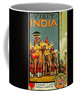 Visit India The Great Indian Peninsula Railway II 1920s A R Acott Coffee Mug